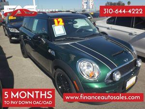 2012 MINI Cooper Clubman S Carfax 1-Owner - No Accidents  Damage Reported to CARFAX 4 Cylinders