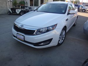 2012 Kia Optima EX Carfax Report - No Accidents  Damage Reported to CARFAX  Snow White Pearl