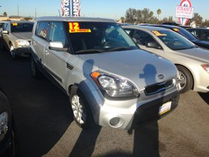2012 Kia Soul Base Carfax Report - No Accidents  Damage Reported to CARFAX  Bright Silver Meta