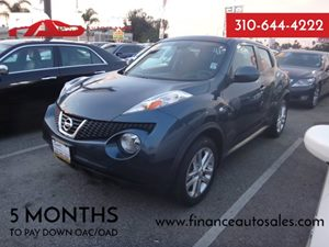 2012 Nissan JUKE S Carfax Report - No Accidents  Damage Reported to CARFAX  Electric Blue  Ra