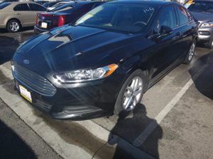 2013 Ford Fusion SE Carfax 1-Owner - No Accidents  Damage Reported to CARFAX  Tuxedo Black Met
