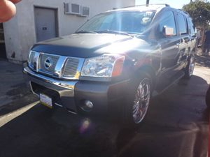 2007 Nissan Armada LE Carfax Report - No Accidents  Damage Reported to CARFAX  gary  NOTICE