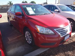 2014 Nissan Sentra S Carfax 1-Owner - No Accidents  Damage Reported to CARFAX  Red Brick  NOT
