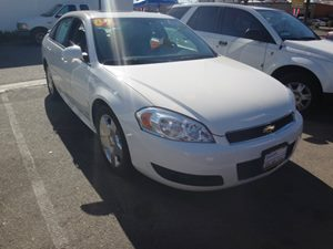 2009 Chevrolet Impala SS Carfax Report - No Accidents  Damage Reported to CARFAX  White  NOTI