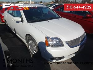 2012 Mitsubishi Galant ES Carfax 1-Owner - No Accidents  Damage Reported to CARFAX  White Pear