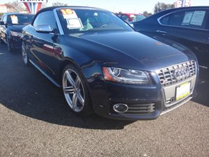 2010 Audi S5 Prestige Carfax Report - No Accidents  Damage Reported to CARFAX  Deep Sea Blue P