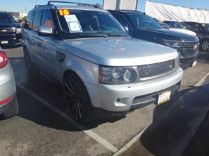 2010 Land Rover Range Rover Sport HSE LUX Carfax Report - No Accidents  Damage Reported to CARFAX