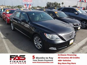 2007 Lexus LS 460 LWB Carfax Report - No Accidents  Damage Reported to CARFAX  Black Sapphire