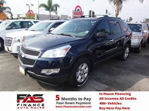 2012 Chevrolet Traverse LS Carfax Report - No Accidents  Damage Reported to CARFAX  Dark Blue