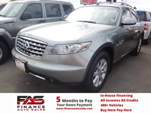 2006 Infiniti FX35  Carfax Report - No Accidents  Damage Reported to CARFAX  Silver  NOTICE