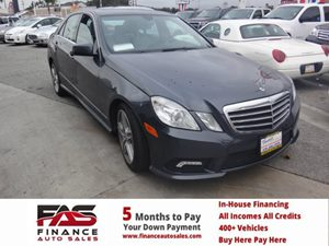 2011 MERCEDES E350 Luxury Sedan Carfax 1-Owner - No Accidents  Damage Reported to CARFAX  gary