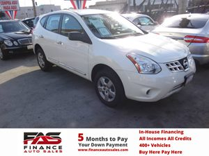 2012 Nissan Rogue S Carfax Report - No Accidents  Damage Reported to CARFAX  Pearl White  NOT