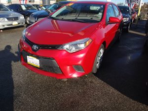 2014 Toyota Corolla L Carfax 1-Owner - No Accidents  Damage Reported to CARFAX  Barcelona Red