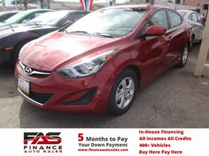 2014 Hyundai Elantra SE Carfax 1-Owner - No Accidents  Damage Reported to CARFAX  Venetian Red