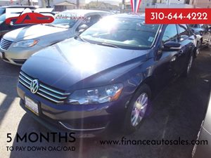 2013 Volkswagen Passat S wAppearance Carfax 1-Owner - No Accidents  Damage Reported to CARFAX