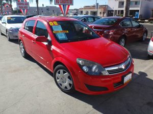 2008 Saturn Astra XE Carfax Report - No Accidents  Damage Reported to CARFAX  Salsa Red  NOTI