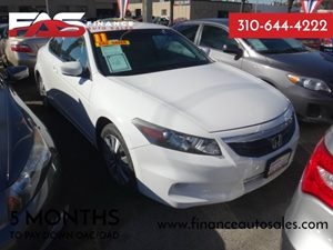 2011 Honda Accord Cpe LX-S Carfax Report - No Accidents  Damage Reported to CARFAX  Taffeta Wh