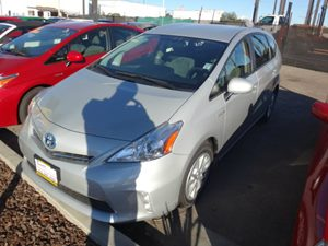 2012 Toyota Prius v Five Carfax 1-Owner - No Accidents  Damage Reported to CARFAX  Classic Sil