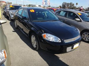 2013 Chevrolet Impala LT Carfax Report - No Accidents  Damage Reported to CARFAX  Black  NOTI