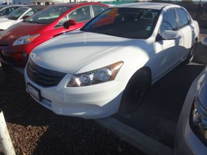 2012 Honda Accord Sdn LX Carfax Report - No Accidents  Damage Reported to CARFAX  Taffeta Whit