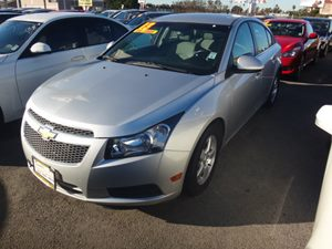 2014 Chevrolet Cruze 1LT Carfax 1-Owner - No Accidents  Damage Reported to CARFAX  sliver  NO