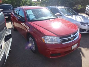 2014 Dodge Avenger SE Carfax 1-Owner - No Accidents  Damage Reported to CARFAX  Deep Cherry Re