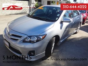 2013 Toyota Corolla L Carfax 1-Owner - No Accidents  Damage Reported to CARFAX  Silver  Rate