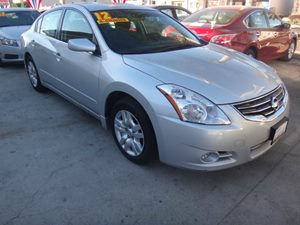 2012 Nissan Altima 25 S Carfax Report - No Accidents  Damage Reported to CARFAX  Silver  Ra