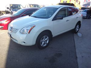 2013 Nissan Rogue S Carfax Report - No Accidents  Damage Reported to CARFAX  Pearl White  Rat