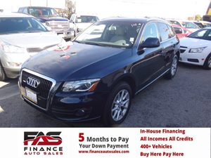 2009 Audi Q5 Premium Plus Carfax Report - No Accidents  Damage Reported to CARFAX  Brilliant B