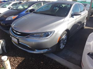 2015 Chrysler 200 Limited Carfax 1-Owner - No Accidents  Damage Reported to CARFAX  Billet Sil