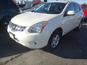 2013 Nissan Rogue S Carfax 1-Owner - No Accidents  Damage Reported to CARFAX  Pearl White  NO