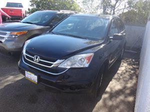 2010 Honda CR-V EX Carfax 1-Owner - No Accidents  Damage Reported to CARFAX  Crystal Black Pea