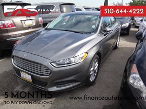 2012 Ford Fusion SE Carfax 1-Owner - No Accidents  Damage Reported to CARFAX  gary  Rates as