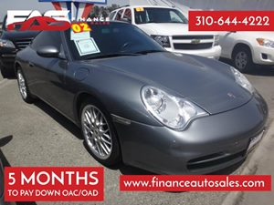 2002 Porsche 911 Carrera  Carfax Report - No Accidents  Damage Reported to CARFAX  Silver Our