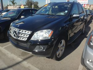 2010 MERCEDES ML350 SUV Carfax 1-Owner - No Accidents  Damage Reported to CARFAX  Black  Rate