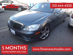 2008 MERCEDES S550 Sedan Carfax Report - No Accidents  Damage Reported to CARFAX 8 Cylinders Ai