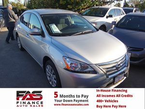 2014 Nissan Sentra S Carfax 1-Owner - No Accidents  Damage Reported to CARFAX  Silver  Rates