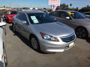 2011 Honda Accord Sdn LX Carfax Report  Silver  NOTICE All advertised prices are discount