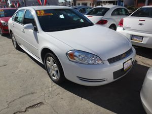 2012 Chevrolet Impala LT Fleet Carfax Report  Summit White  NOTICE All advertised prices a