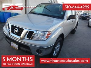 2010 Nissan Frontier SE Carfax Report - No Accidents  Damage Reported to CARFAX Air Conditioning
