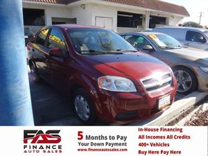 2011 Chevrolet Aveo LT w1LT Carfax Report  Maroon  Rates as low as 29 - At finance auto sa