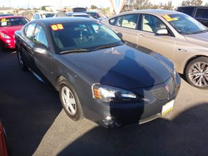 2008 Pontiac Grand Prix  Carfax Report - No Accidents  Damage Reported to CARFAX  grey  Rates