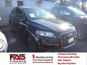 2013 Audi Q7 30T Premium Plus Carfax 1-Owner - No Accidents  Damage Reported to CARFAX  Orca