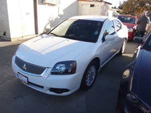 2011 Mitsubishi Galant FE Carfax Report - No Accidents  Damage Reported to CARFAX  White Pearl
