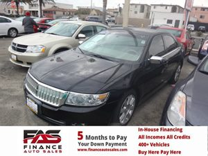 2007 Lincoln MKZ  Carfax Report - No Accidents  Damage Reported to CARFAX 6 Cylinders Air Condi