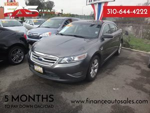 2011 Ford Taurus SEL Carfax 1-Owner - No Accidents  Damage Reported to CARFAX 6 Cylinders Air C