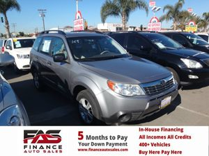 2010 Subaru Forester 25X Carfax Report  silevr  Rates as low as 29 - At finance auto sales