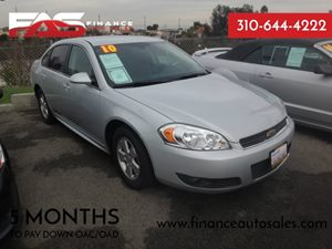 2010 Chevrolet Impala LT Carfax Report - No Accidents  Damage Reported to CARFAX  Silver  Ra