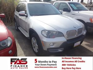 2008 BMW X5 48i Carfax Report - No Accidents  Damage Reported to CARFAX  Titanium Silver Meta
